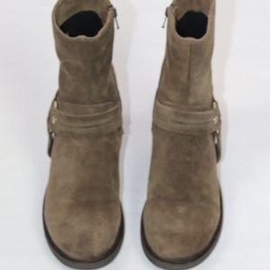BRAND NEW LA CANADIENNE BROWN SUEDE ANKLE BOOT 7.5